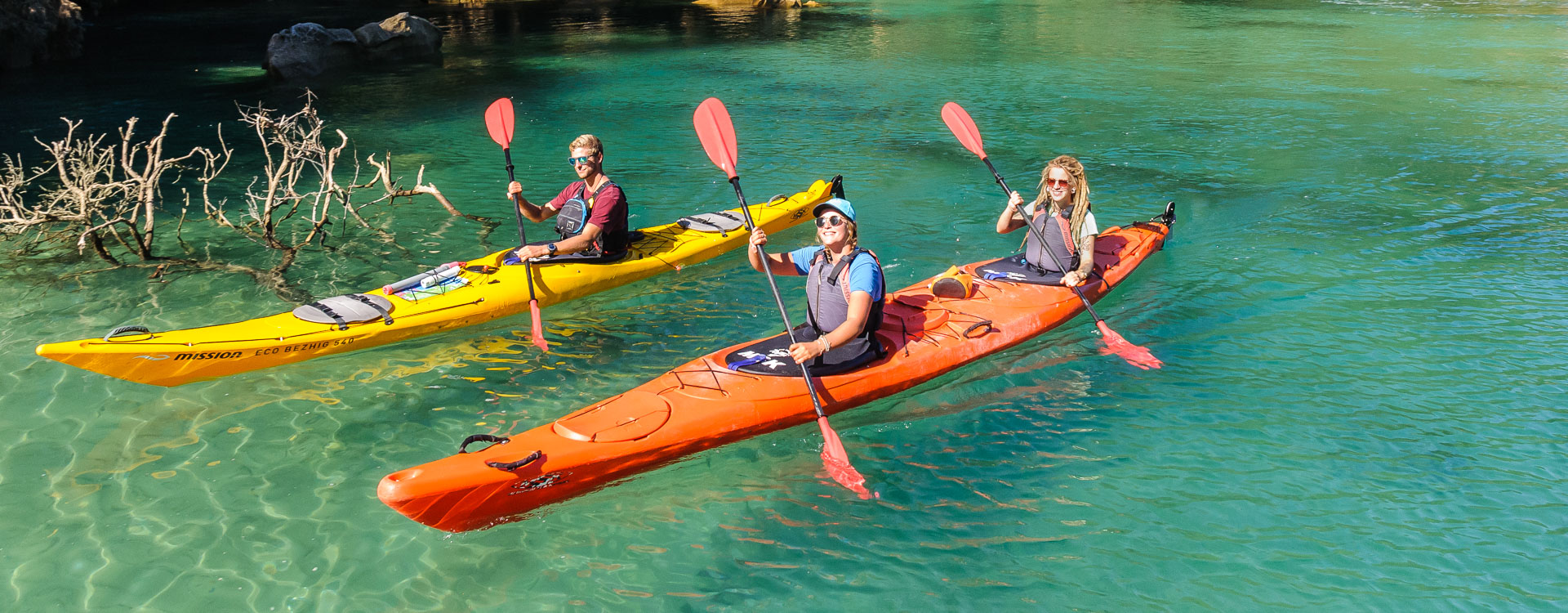 Marahau Sea Kayaks - MSK - Homeward Bound - A 3 day Kayak & Walk Trip exploring the Abel Tasman Coastline