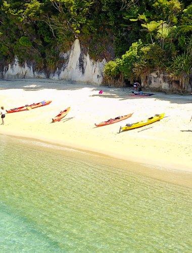 Marahau Sea Kayaks - MSK- Abel Tasman kayak trip