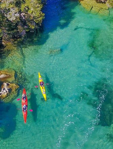 Marahau Freedom Sea Kayaks - Abel Tasman - 5 day freedom kayak hire