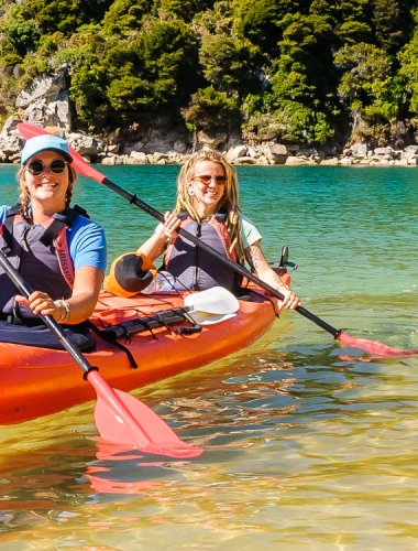 Marahau Sea Kayaks - Abel Tasman guided kayak & walk