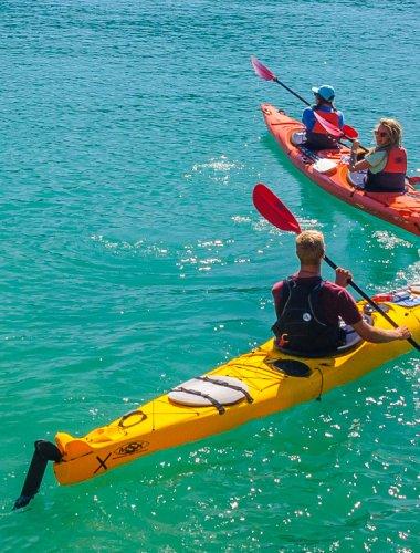 Marahau Sea Kayaks - MSK- Abel Tasman guided kayak & water taxi