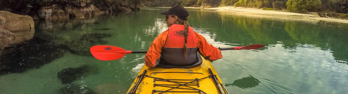 Marahau Sea Kayaks - MSK - Explore the Abel Tasman with our freedom kayaks