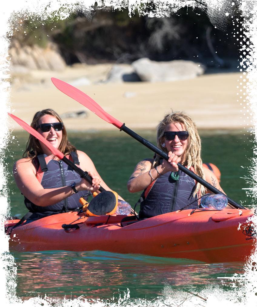 Marahau Sea Kayaks - MSK - Explore the Abel Tasman with our expert sea kayaking guides