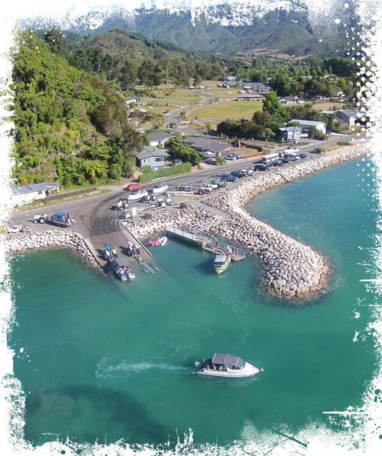 Marahau - Southern gateway to The Abel Tasman National Park - MSK